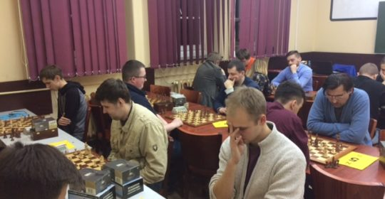 Akademickie Mistrzostwa Zachodniopomorskiego w Szachach 2017/2018