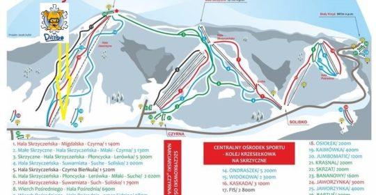 Oferta obozu narciarskiego w Szczyrku 17-23.02.2019r.